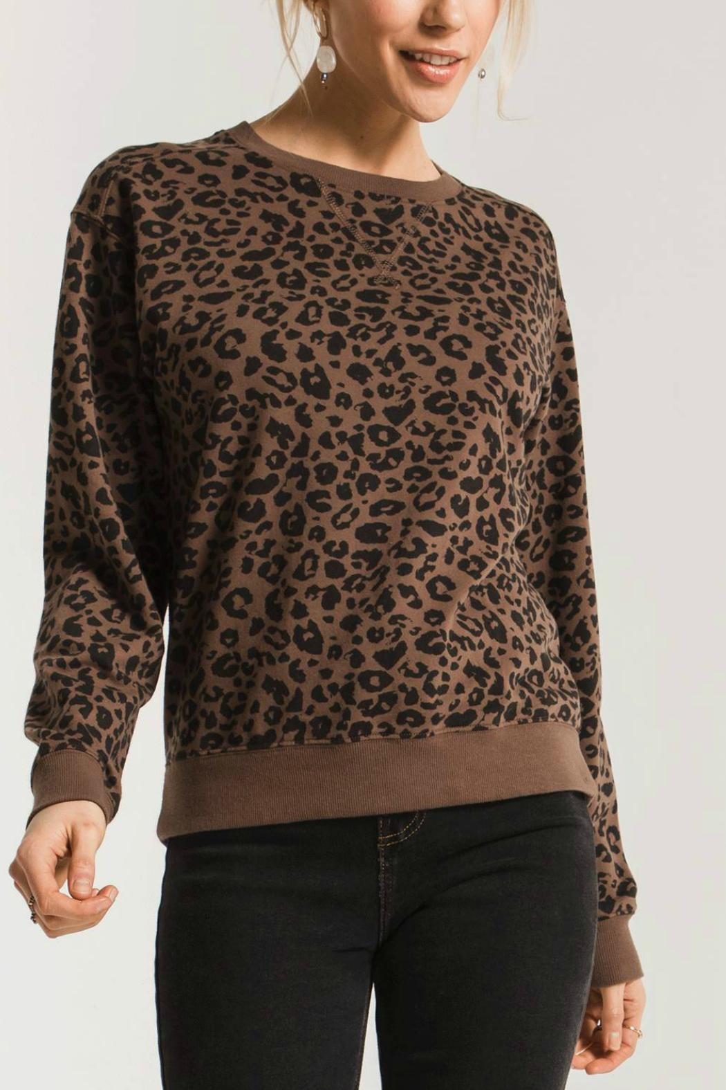 Zsupply Leopard Pullover - Main Image