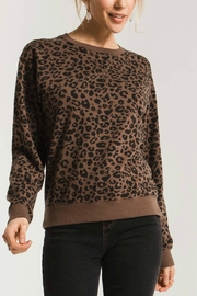 Zsupply Leopard Pullover - Front cropped