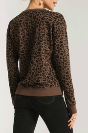 Zsupply Leopard Pullover - Back cropped