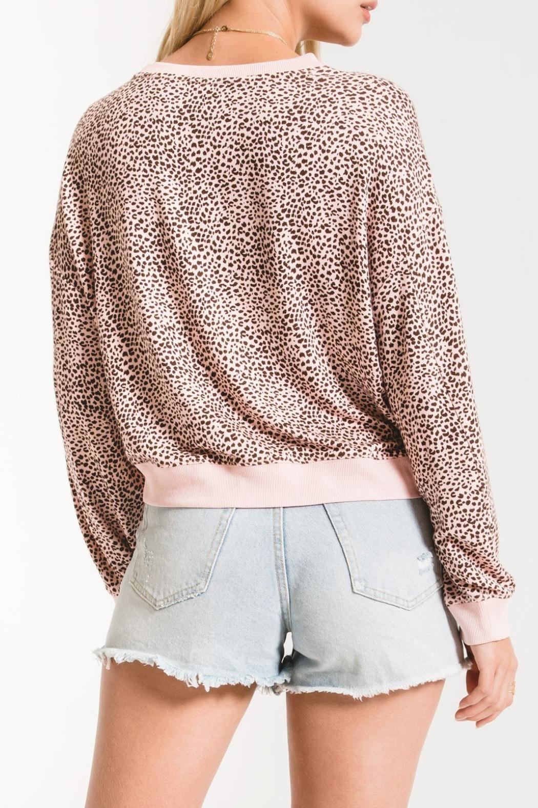 Zsupply Mini Leopard Pullover - Side Cropped Image