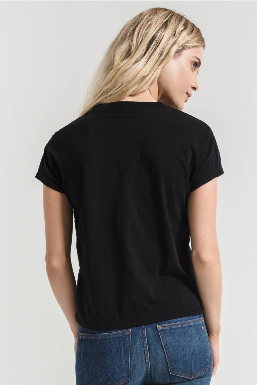 Zsupply Modern Crew-Tee, Black - Back Cropped Image