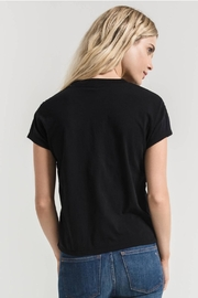 Zsupply Modern Crew-Tee, Black - Back cropped