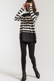 Zsupply Mordern Stripe Crew - Front cropped