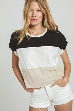 Zsupply Napali Stripe Tee - Product List Image