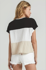 Zsupply Napali Stripe Tee - Side cropped