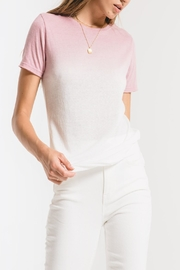 Z Supply  Ombre Dipdye Tee - Front cropped