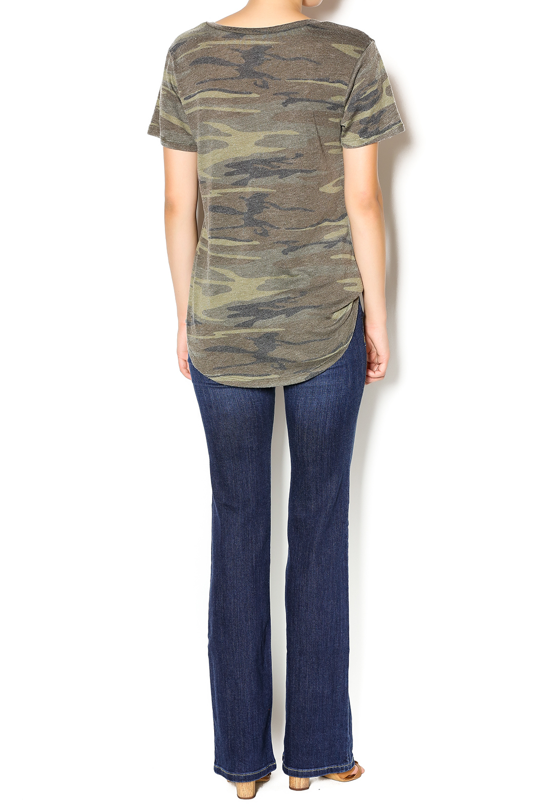 Zsupply Camo Pocket Tee - Side Cropped Image