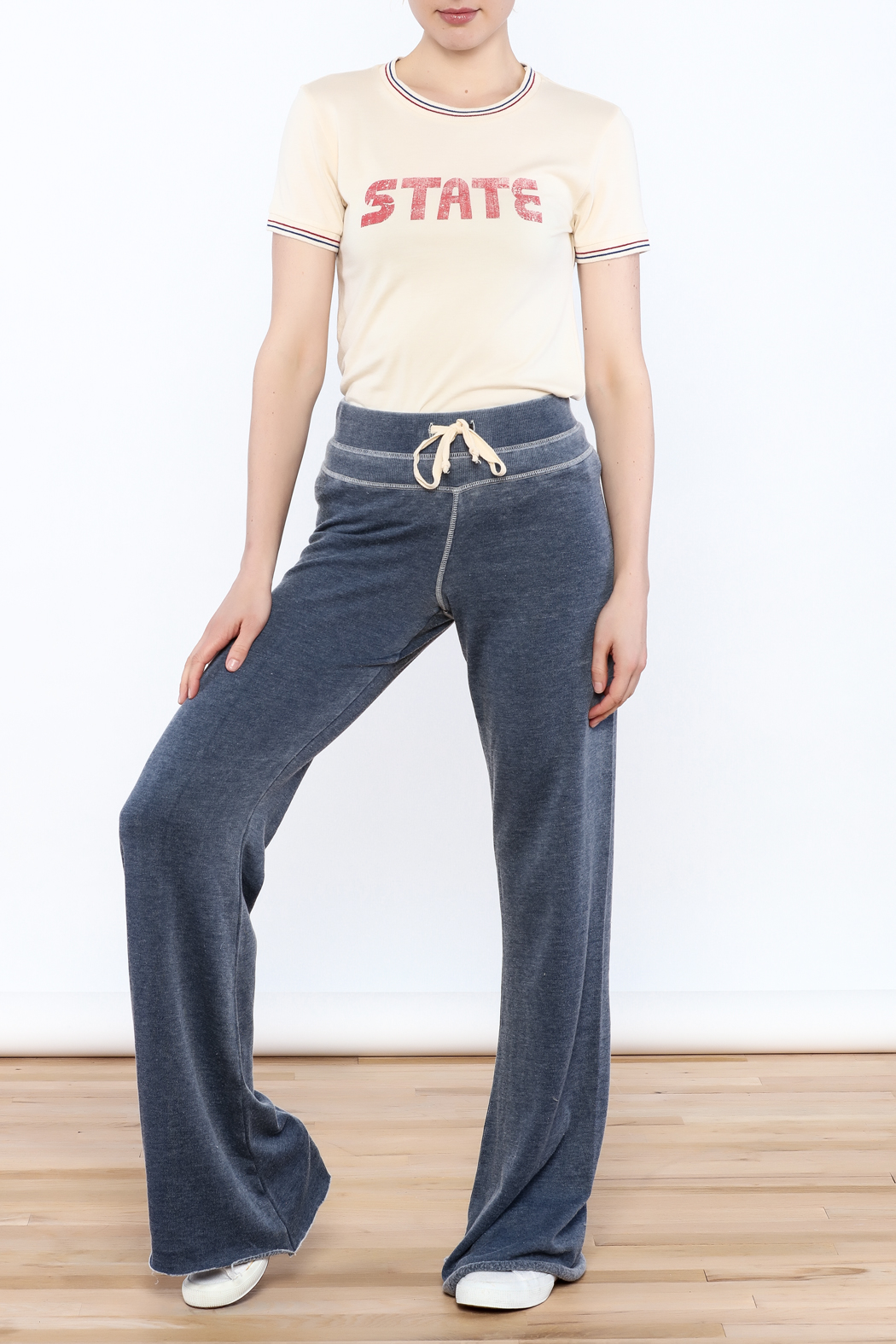 Zsupply Relaxed Lounge Pants - Side Cropped Image