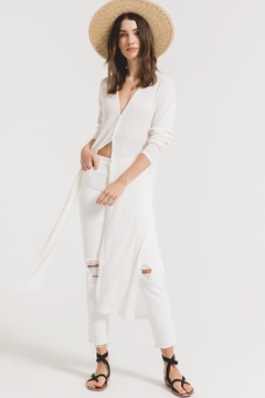Zsupply Rib Duster Cardigan - Product List Image