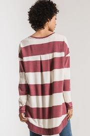 Zsupply Rugby Stripe Weekender - Front full body