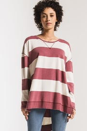 Zsupply Rugby Stripe Weekender - Front cropped