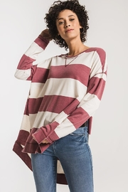 Zsupply Rugby Stripe Weekender - Back cropped