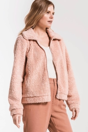 Zsupply Sherpa Crop Jacket - Back cropped