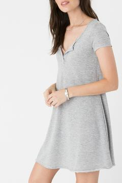 Zsupply Simple Grey Dress - Product List Image