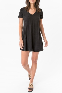 Zsupply Stone Suede Dress - Product List Image