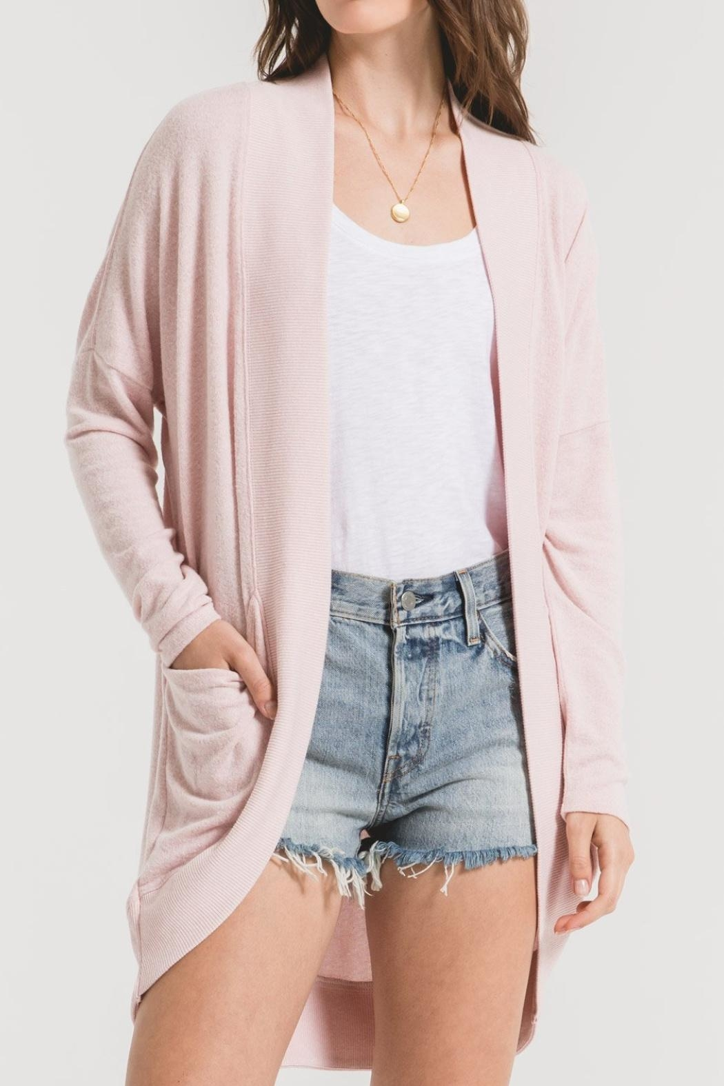 Zsupply The Marled Cardigan - Front Cropped Image