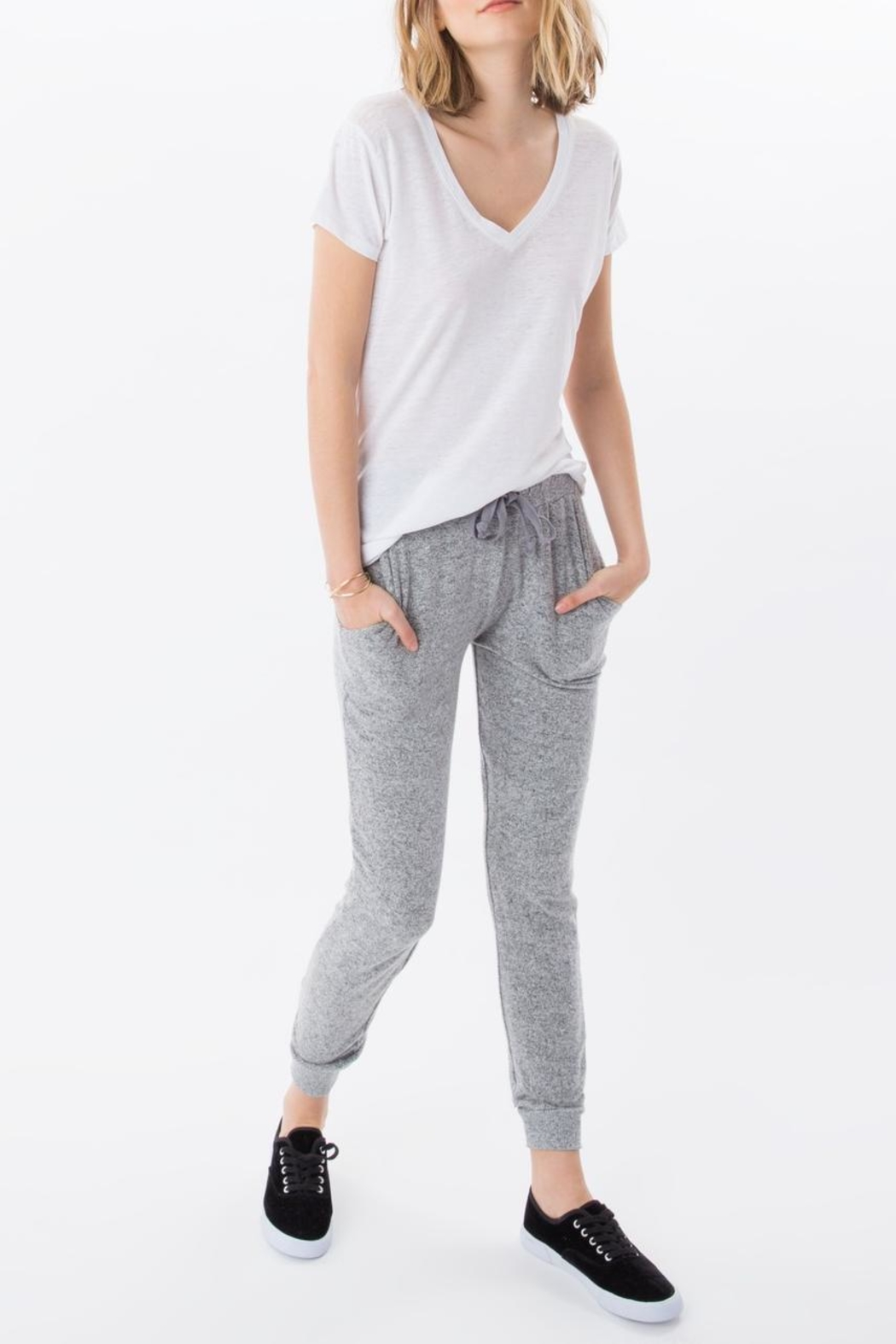 Zsupply The Marled Jogger - Front Cropped Image