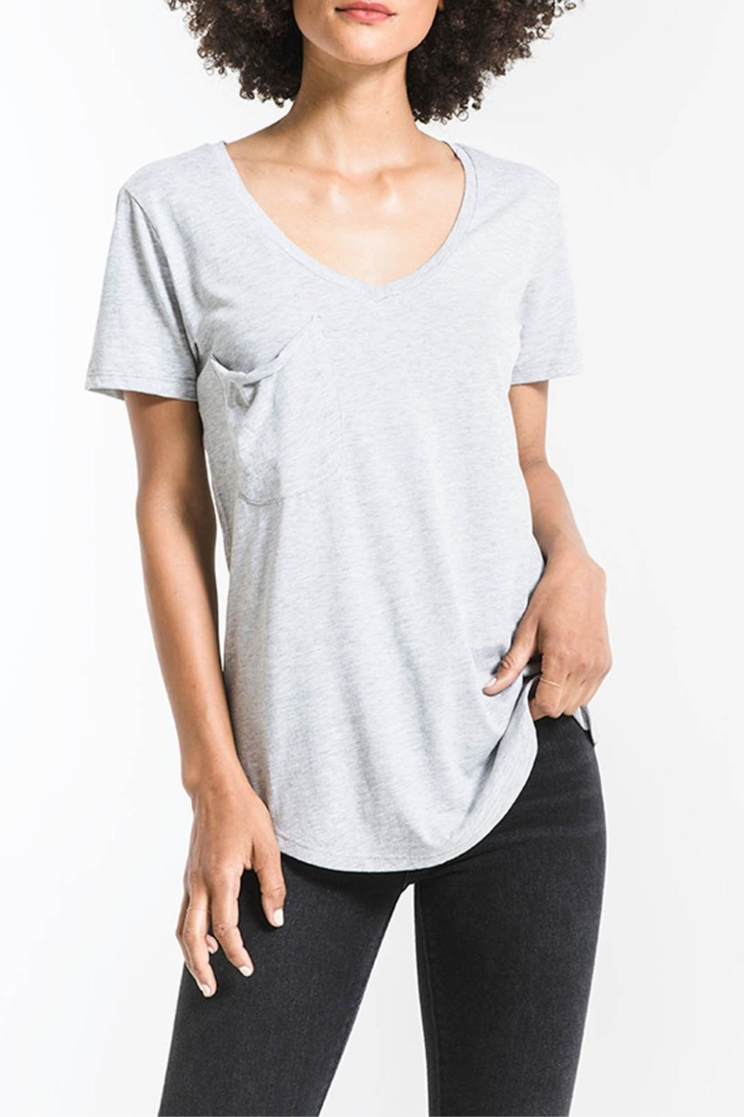 Z Supply  The Pocket Tee - Front Cropped Image