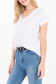 Zsupply The V-Neck Tee-White - Side cropped
