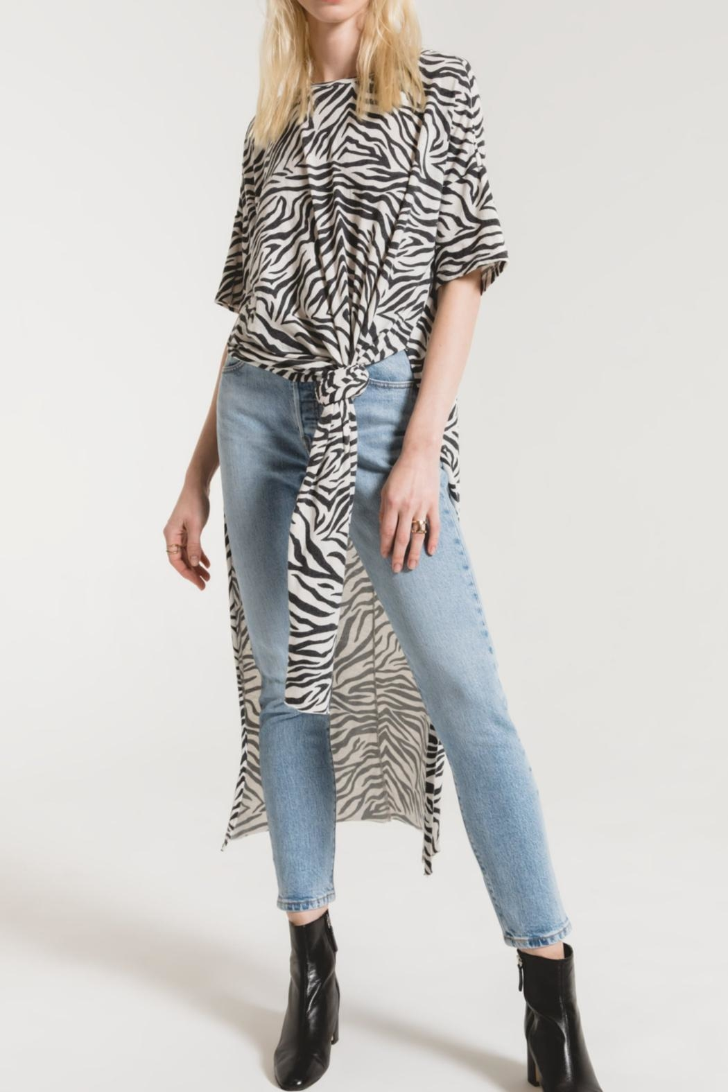 Zsupply The Zebra Top - Front Cropped Image