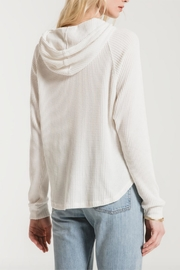 Zsupply Waffle Dolman Hoodie - Front full body
