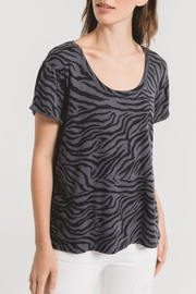 Zsupply Zebra Scoopneck Tee - Product Mini Image