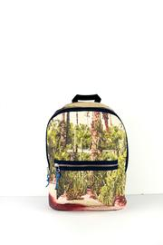 Shoptiques Product: Printed Canvas Backpack - Front cropped