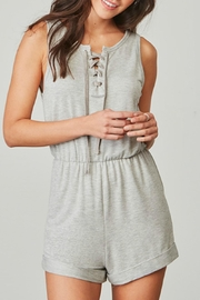 BB Dakota Zuela Grey Romper - Product Mini Image