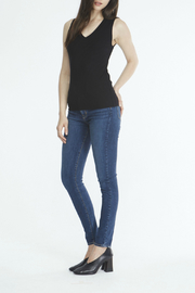 Comune Zuma Rib V-Neck Tank - Product Mini Image