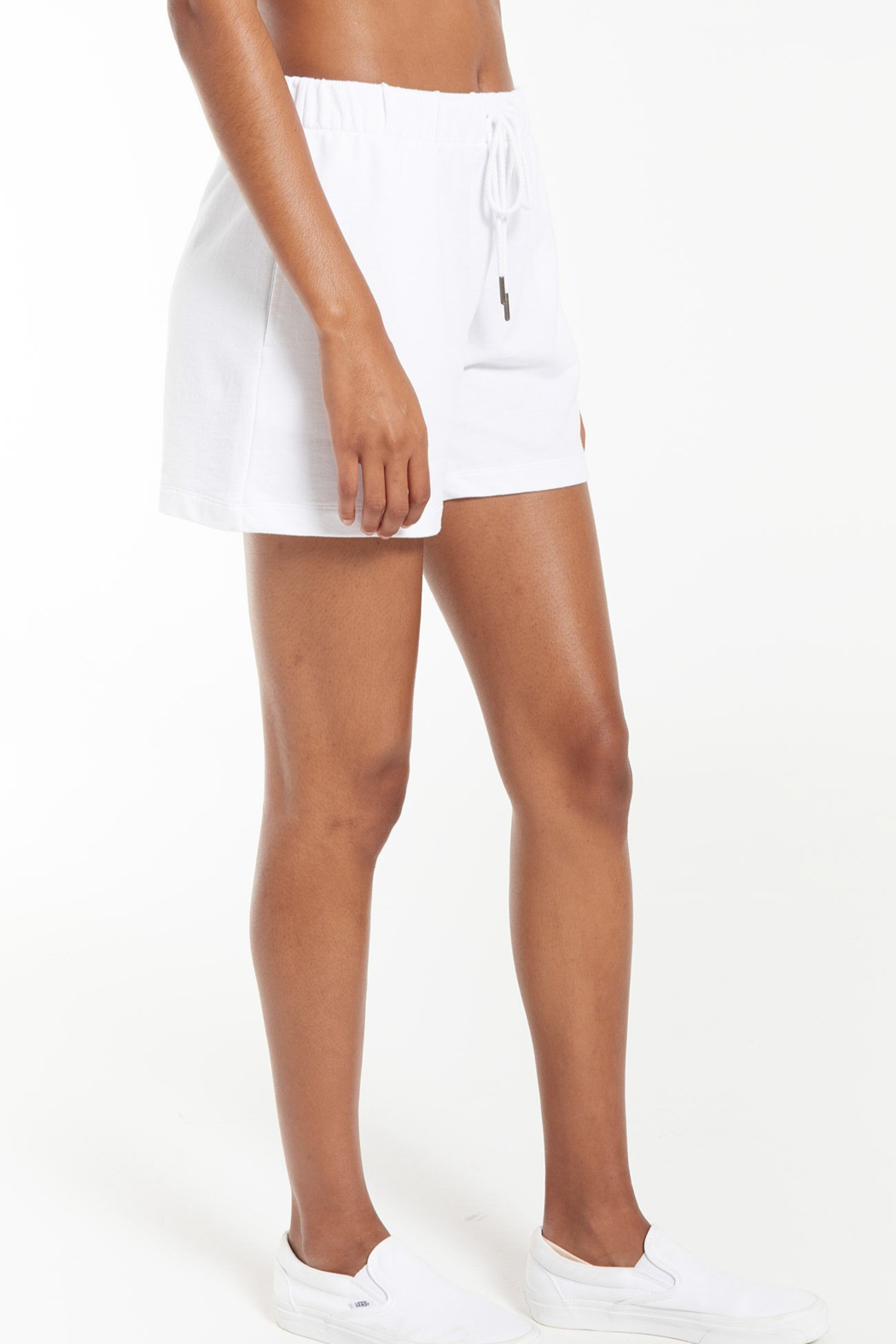z supply Zuri Terry Short - Front Full Image