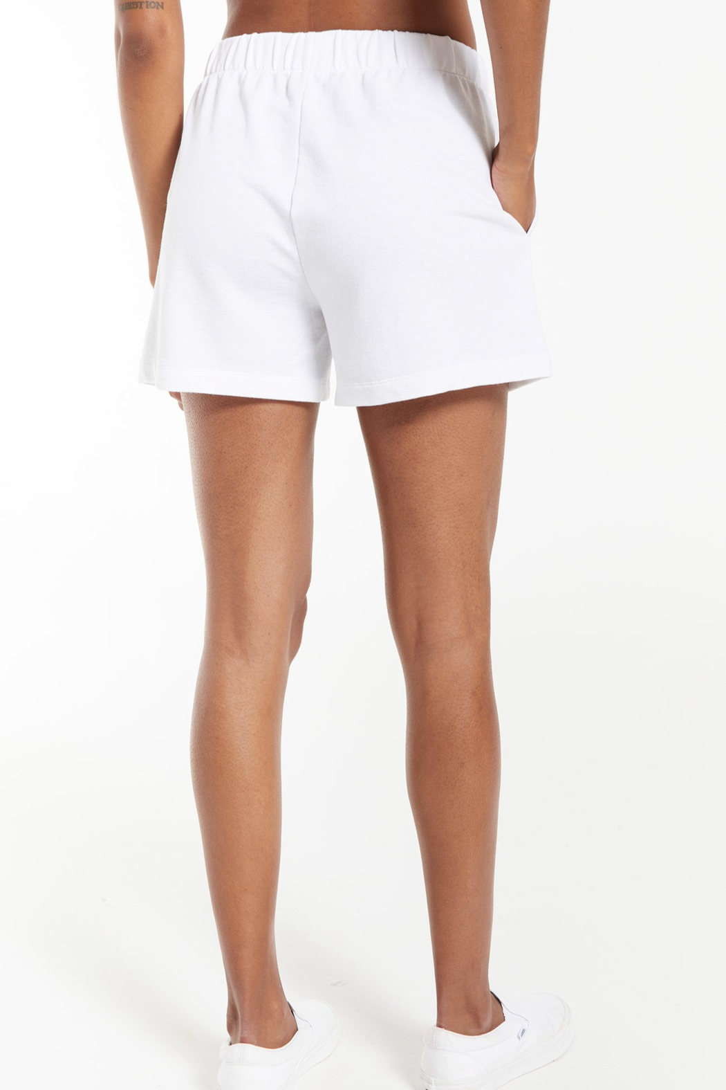 z supply Zuri Terry Short - Side Cropped Image
