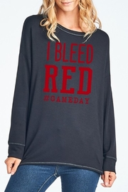 Zutter Bleed Red Top - Product Mini Image