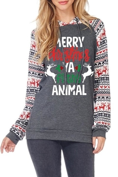 Zutter Christmas Hoodie - Product List Image