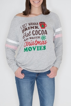 Shoptiques Product: Christmas Movies Sweatshirt