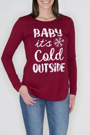 Zutter Cold Outside Tee - Front cropped