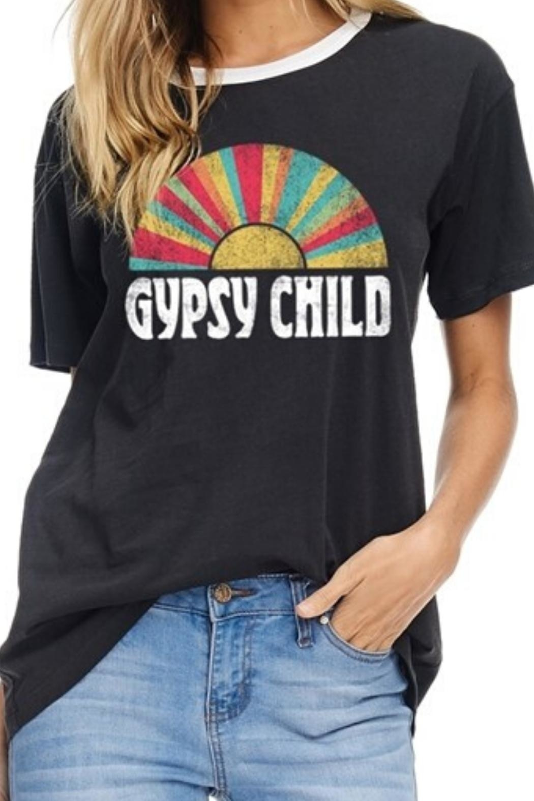 Zutter Gypsy Child Tee - Front Full Image