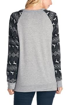 Shoptiques Product: Holiday Print Sweater