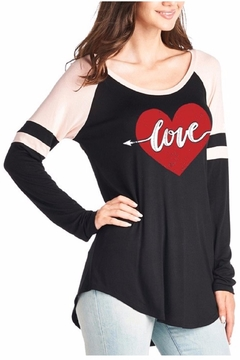 Zutter Love Raglan Shirt - Alternate List Image