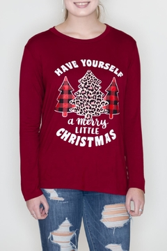 Zutter Merry Christmas Tee - Product List Image