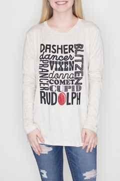 Zutter Rudolph Christmas Tee - Product List Image