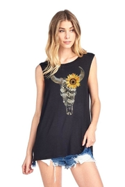 Zutter Sunflower Steer Tank - Front cropped