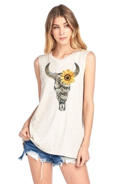Shoptiques Product: Sunflower Steer Tank