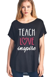 Zutter Teach Inspire Tee - Product Mini Image