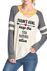 Zutter Tiny Humans Tee - Front cropped