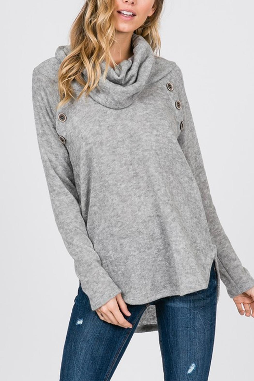 Zutter Turtle Neck Top - Main Image