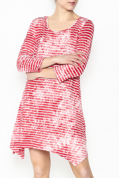 Shoptiques Product: Coral Striped Tunic