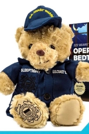 ZZZ Bears Coastie Sleeptight  Coast Guard Teddy Bear With Sleep System + Storybook - Product Mini Image