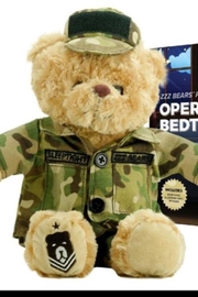 ZZZ Bears Sgt. Sleeptight  Army Teddy Bear And Sleep System + Storybook - Product Mini Image