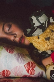 ZZZ Bears Sgt. Sleeptight  Marine Camouflage Teddy Bear With Sleep System And Storybook - Back cropped