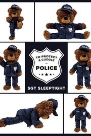 ZZZ Bears Sgt Sleeptight Police Teddy Bear - Product Mini Image